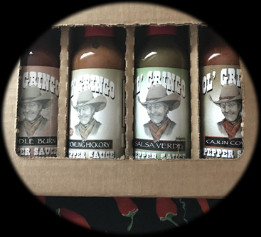 Olgringo Gift Box includes a pepper sauce assortment. | www.olgringos.com